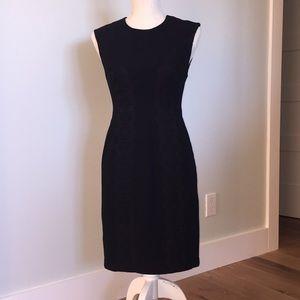 Tracy Reese Plenty LBD Black Dress Bow Lace 4